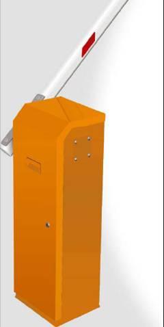 栏杆机安装了一个变速控制器,高效节能,最快起落时间小于0.
